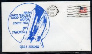 Space Shuttle Rocket Motor Test QM-3 Firing 2/13/1980 D690