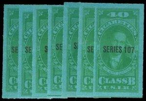 U.S. REV. TAXPAIDS TB95-102  Mint (ID # 76571)