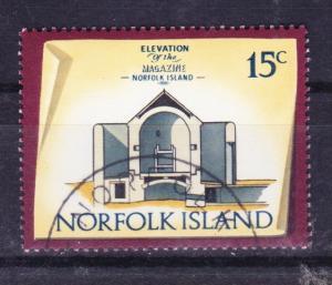 Norfolk Island 1973 Historic Buildings 15c used