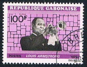 Gabon 297 Used Louis Armstrong (BP6611)