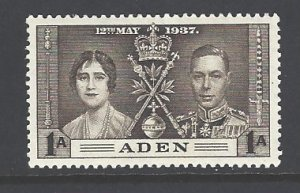 Aden Sc # 13 mint hinged (DT)