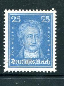 Germany #358  Goethe Mint VF NH