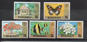 Kiribati 334a-338a MNH
