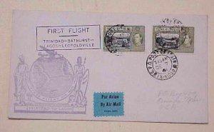 TRINIDAD & TOBAGO  PEARL HARBOR DATE DEC 7,1941 PORT OF SPAIN B/S LAGOS