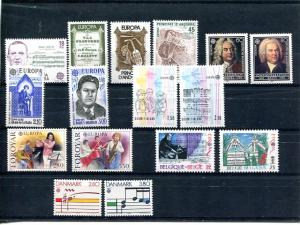Europa  1985  selection    Mint VF NH