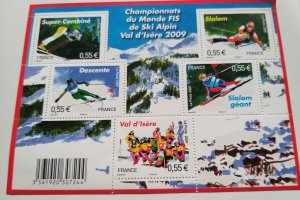 France 2009 Minisheet World ski alpin championship