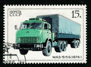 Car, MAZ 515B - 1974, 15 kop (T-6893)