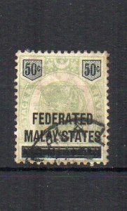 Malaysia - 1900 50c Negri Sembilan opt FU CDS