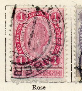 Austria 1899 Early Issue Fine Used 1kr. NW-11521