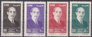 Syria #C208-11 MNH CV $15.25 (Z4017)