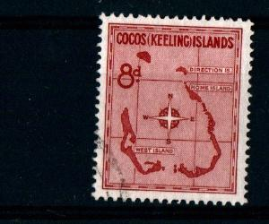 COCOS (KEELING) ISLANDS - Map of Islands - VFU