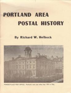Portland Area Postal History,