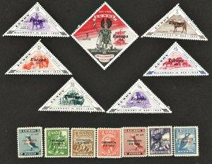 LUNDY 1953 & 1961 CORONATION & EUROPA  Sets MH