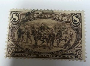 USA 1898 Stamp Trans Miss. 8c Used