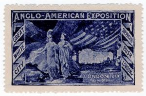 (I.B) Cinderella Collection : Anglo-American Exposition (London 1914)
