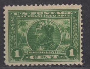 **US Scott #397, MNH, VF+, Balboa Stamp