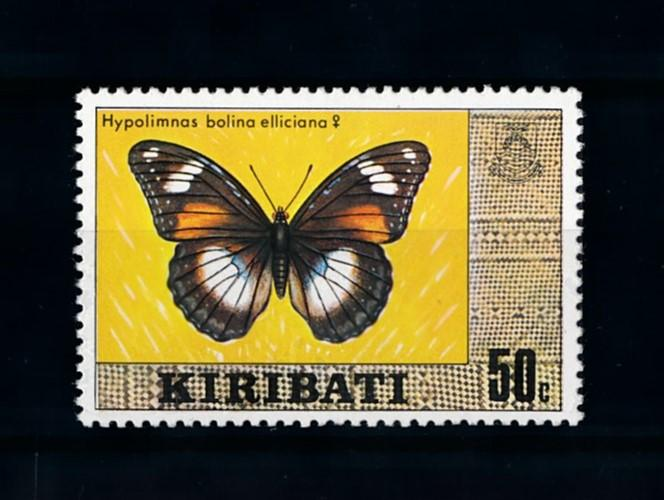 [70372] Kiribati 1979 Insects Butterflies From Set MNH