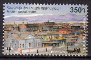 ARMENIA 2020 EUROPA CEPT ANCIENT POSTAL ROUTES [2003]