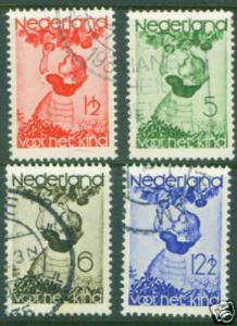 Netherlands Scott B82-5 CV$8.70