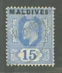 Maldive Islands 5 Used C
