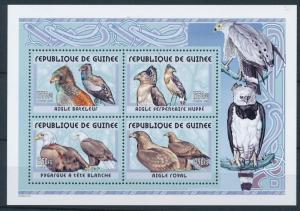 [25904] Guinea 2001 Birds Vögel Oiseaux Ucelli  Eagles MNH