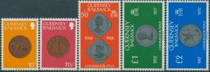 Guernsey 1979 SG187-195 Coins higher values MNH