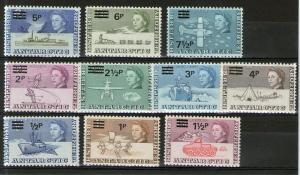 British Antarctic Territory 25-34 MNH