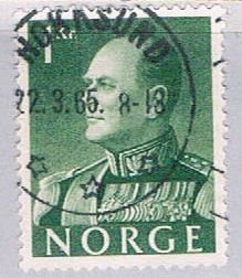 Norway Olav V 1k - pickastamp (NP38R707)