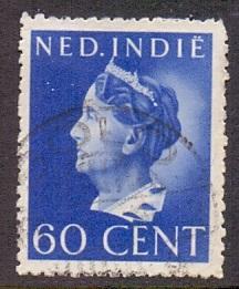 Netherlands Indies 1941 used Wilhelmina  60 ct  #