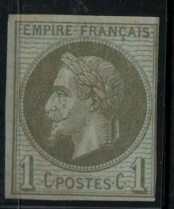 French Colonies 1872 SC 7 Mint SCV $80.00
