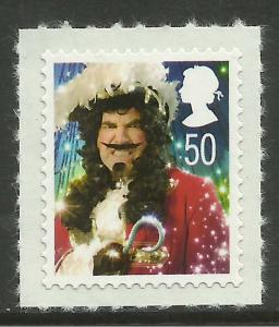 GB 2008 QE2 50p Christmas Umm SG 2879.(T161 )