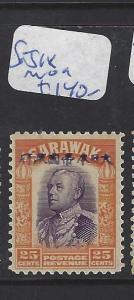 SARAWAK JAPANESE OCCUPATION  (P0509B) 25C  SG J18  MOG