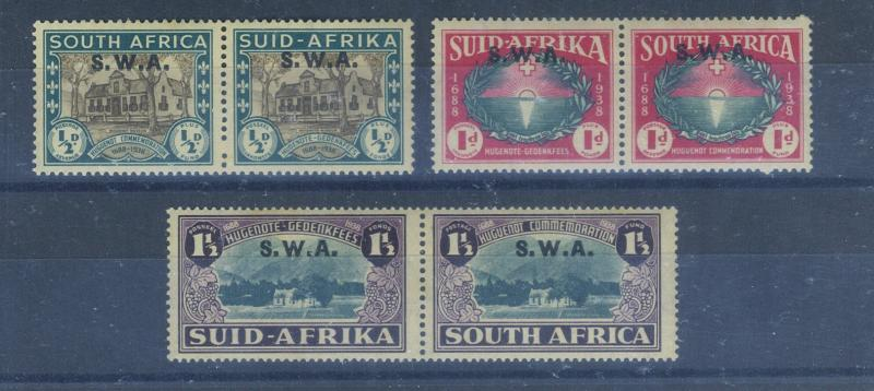 South W Africa #b9-11 MINT VF NH Cat$75