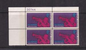 United States 1969 Handy Commemoration Cylinder Block of 4 Pair MNH