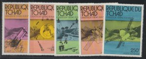 Chad SC 314-15, C191-3  Mint Never Hinged