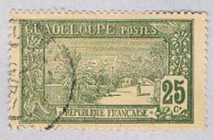 Guadeloupe 66 Used La Soufriere 1905 (BP30223)