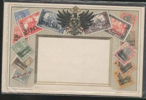 Gereman Morocco Ottmar  Zieher flat OZ stampcard No.57.