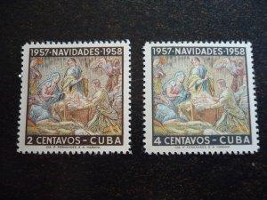 Stamps - Cuba - Scott#588-589 - MNH Set