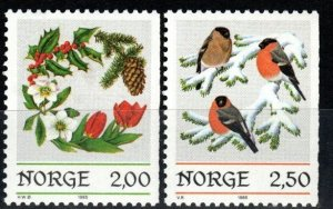 Norway #871-2  MNH CV $4.00 (X1392)