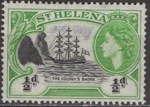 St Helena; 1953: Sc. #140, *+/MLH Single Stamp