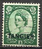 Great Britain -  Morocco - Tangier 1953: Sc. # 574 O/Used Single Stamp