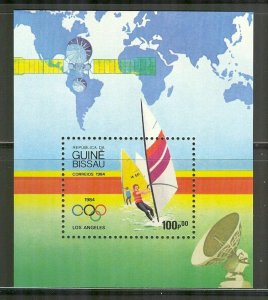 Guinea-Bissau 1984 souvenir sheet Scott #578 MNH Los Angeles Summer Olympics