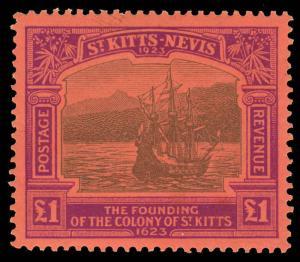 St. Kitts-Nevis Scott 64 Gibbons 60 Never Hinged Stamp