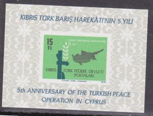 Turkish Republic of Northern Cyprus # 70 Mint NH