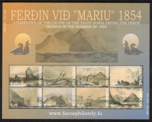 (CMA) Faroe Islands Scott #442 MNH Sheet of 8