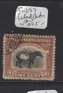 NORTH BORNEO   (PP1409B)   1C   TAPIR  SG 277   LAHAD DATU    VFU