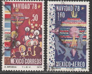 MEXICO 1165, C588, Christmas Season. Used. F-VF. (795)