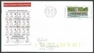CANADA #968 1982 Royal Canadian Henley Regatta FDC (C)