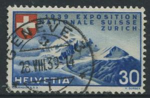Switzerland - Scott 249 - National Expo. Issue -1939 - FU - Single 30c Stamp