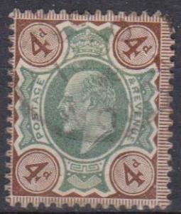Great Britain #133 Fine Used CV $35.00 (B601)